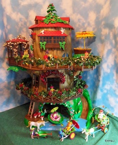 Playmobil Fairy Tree House    we have to have this ! ! !