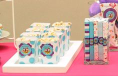 Giggle and Hoot popcorn Owl Birthday Parties, 7th Birthday, Birthday Ideas, Party Fiesta, Party Party, Party Ideas, Owl Cookies, Childrens Party, Perfect Party