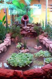 Resultado de imagen para jardim de inverno com cascata