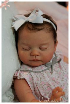 Custom Order for Reborn Blanca Newborn Girl or Boy Doll HOLIDAY SALE
