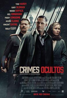 #RidleyScott é o produtor de #CrimesOcultos (Child 44), filme baseado no best-seller de Rob Smith. O suspense será estrelado por #TomHardy, #GaryOldman e #NoomiRapace. 7♥