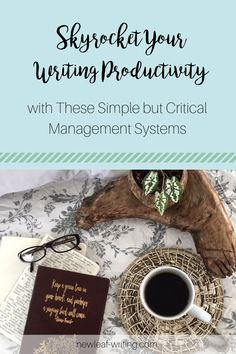 Write more in less time! Increase your writing productivity with these simple systems for client management, time management and money management. Fiction Writing, Writing Advice, Writing A Book, Time Management Tips, Productivity Management, How To Get Clients, Writing Motivation, How To Stop Procrastinating, Writing Process