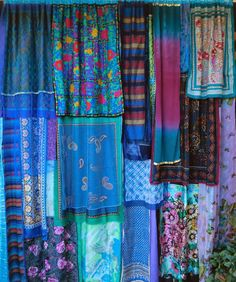 Gypsy curtains. Babylon Sisters