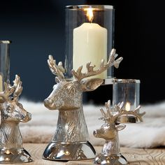 Culinary Concepts Stag Head Candle Holder, Large | Prezola - The Wedding Gift List