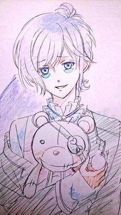 Kanato Sakamaki - Diabolik Lovers - Credit to the artist.