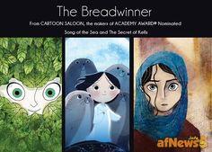 "News from Annecy: Melusine partner di Cartoon Saloon per ""The Breadwinner"" - http://www.afnews.info/wordpress/2015/06/20/news-from-annecy-melusine-partner-di-cartoon-saloon-per-the-breadwinner/"