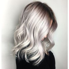 >>> COLOR CORRECTION: Icy Blonde Shadow Root >>>