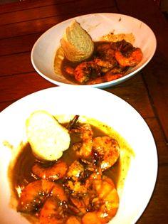 New Orleans bbq shrimp!
