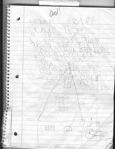Dysgraphia: Dyslexia/Dysgraphia Writing Example #2
