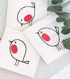 Christmas cards kids can make Mums Make Lists | Life hacks for mothers