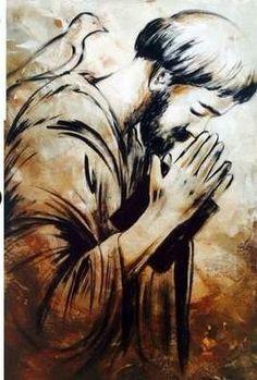 Bride Of Christ, Francisco, St Francis Assisi, Painting, Life Art, Catholic Art, Christian Art, Christ Tattoo, Assisi