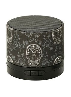 Sugar Skull bluetooth speaker