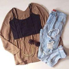 #outfit #fashion #boyfriendjeans @winter #cardigan #ootd