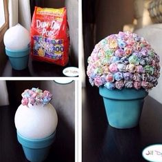 Easy fun candy boquet perfect for a mothers/Father's Day gift! Or even a birthday or other special occasion!!!