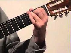 Classical Guitar Lesson 6 Spanish Romance part 2 - YouTube