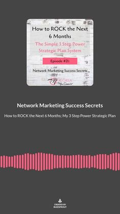 """Do you have a strategy for exactly how you're going to take advantage of this unique time to grow your business? How do you plan in these uncertain times? This insanely easy system keeps me laser focused, highly productive and moving towards my goals and dreams even in times of change, upheaval, and uncertainty. If you need a system to get """"Cream of the Crop""""prospects reaching out to you... Listen here!"""