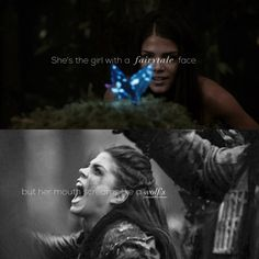 Her mouth screams like a wolf's | Octavia Blake