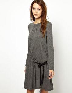 263 wool jersey dress
