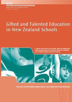gifted and talented students in new zealand - Google Search