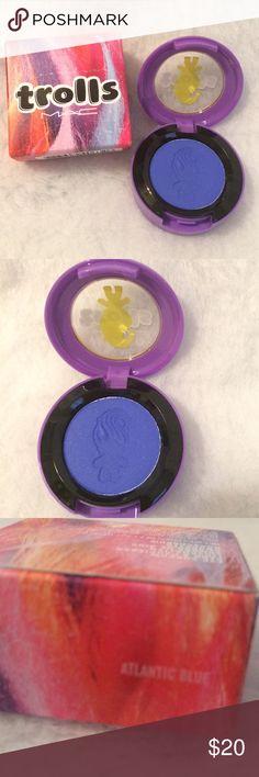 SaleMAC Cosmetics Trolls Atlantic Blue Eyeshadow MSale Durning Make Up Party Only AC Cosmetics Trolls Limited Edition Atlantic Blue Eyeshadow MAC Cosmetics Makeup Eyeshadow