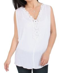 My Beloved Loose Open Sleeve Laced Blouse in White, Small My Beloved. $16.00. Save 84%!