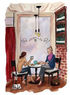 Las mejores historias, se cuentan tomando un cafè!! <3