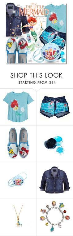 """""""The Little Mermaid Ariel"""" by elona-makavelli ❤ liked on Polyvore featuring Disney, Manic Panic NYC, maurices and Disney Couture"""