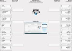 6 Team Seeded Single Elimination Printable Tournament