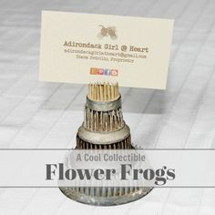A Cool Collectible: Flower Frogs