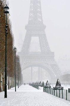 #Parijs in de #winter