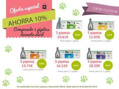 ¡¡#OFERTA durante Abril en todas las #pipetas #Flevox comprando 3 pipetas sueltas de cualquier presentación!! Ninguna mascota con parásitos #mascotas #mascoweb #tiendaonline #perros #gatos