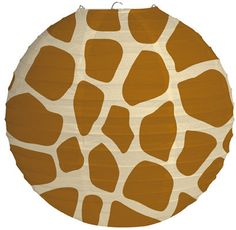 Party Souq - Giraffe Print Paper Lantern|1 pc, $ 16.42