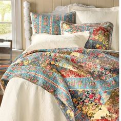 French country/boho bedding farmhouse-remodeling-inspiration