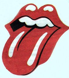 """Rolling Stones logo designed 1970-1971 The group's """"lips and tongue"""" logo is one of the most recognisable in rock 'n' roll, but there are conflicting stories about who designed it. It is usually credited to a Royal College of Art student called John Pasche, though American artist Ernie Cefalu has claimed responsibility for the original concept. The logo was first featured on the Sticky Fingers album sleeve in 1971."""