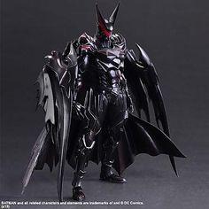 Batman Play Arts Kai Action Figure - Batman Variant Designed by Tetsuya Nomura... This will be mine next month!