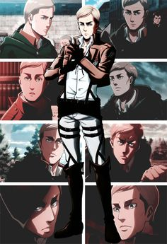 Erwin Smith - L'attacco dei Giganti - Attack on Titan #aot #snk
