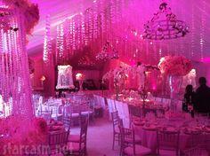 Pandora's wedding tent