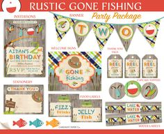 Fishing Themed Birthday Party Ideas Birthday party ideas