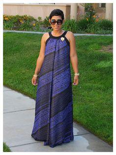 X back long dress 6207 – Dress best style form African Print Fashion, African Fashion Dresses, African Attire, African Dress, Chitenge Dresses, Moda Afro, Maxi Styles, Dress Patterns, Classy Outfits