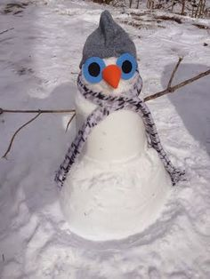 Best Little Snowman in Helena ~ The No Sleep in Helena blog invited Helena residents to send their pictures of snowmen.   There were 37 entries, and the winner, Ansley Weather, was chosen by a drawing.