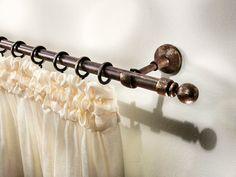 Gardinenstange aus Schmiedeeisen im klassischen Stil ALUNDRA Kollektion Eisen by Scaglioni   Design Scaglioni