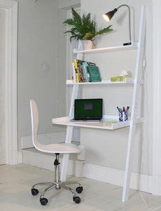 Sue Ryder Online - Affordable Home Finds | Affordable, brand new interior related homewares, furniture and accessories the Sue Ryder Charity has set up an online shop. Perfect for small spaces, or if you need to squeeze in a desk area to a space, this leaning ladder desk is ideal as it uses the vertical #homdecor #desk #candleholder #homeideas #interiors #charity #smallspaces #homeoffice #deskideas #shelving #homewares #interiorinspo