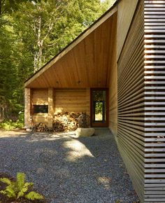 Using wood as the primary building material imbues an aesthetic warmth to the…