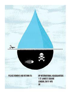 TEDxOilSpill Poster Competition (concorso per il miglior manifesto sulla perdita di petrolio nel Golfo del Messico), indetto da TED
