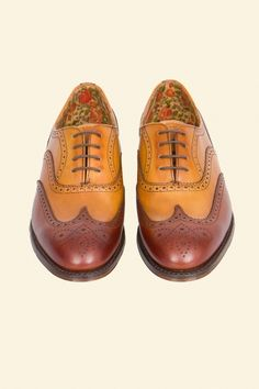 J Cheaney Maise Brogue Men Dress, Dress Shoes, Brogues, Hiking Boots, Oxford Shoes, England, Lace Up, Fashion, Formal Shoes