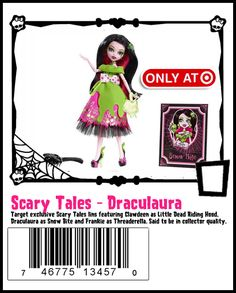 Scary Tales Draculaura http://www.target.com/p/monster-high-scarily-ever-after-draculaura/-/A-14062610#prodSlot=medium_1_4=monster high