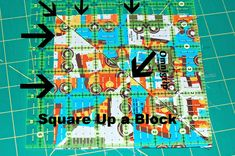Perfect square blocks and strips aren't created by accident. You can strive for perfection as you build a block with precise stitching, perfect cutting of pieces, aligning units with exact pinning, but it ends up slightly off square. Sometimes it just a slight stretched fabric or an off angled seam. Watch thetwo videos on the …