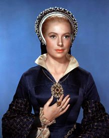 "as Catherine Parr in ""Young Bess"" {Deborah Kerr}"