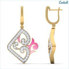 Emoine Drop Earring - Caitali
