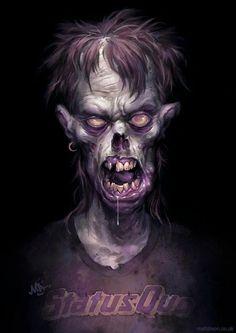 Zombie by Matt Dixon #artwork